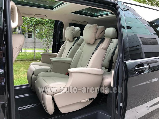 Прокат Мерседес-Бенц V300d 4MATIC EXCLUSIVE Edition Long LUXURY SEATS AMG Equipment в Берлине