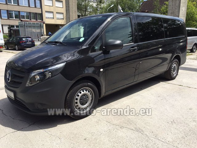 Transfer from Munich Airport to Zurich by Mercedes Vito Long (1+8 Pax) AMG equipment car