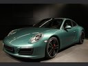 Rent-a-car Porsche 911 991 4S Racinggreen Individual Sport Chrono in Germany, photo 1
