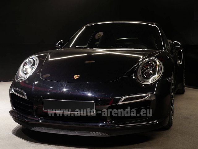 Rental Porsche 911 991 Turbo S Ceramic LED Sport Chrono Package in Konstanz