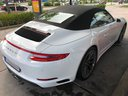 Rent-a-car Porsche 911 Carrera 4S Cabrio White in Hanover, photo 3