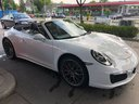 Rent-a-car Porsche 911 Carrera 4S Cabrio White in Hanover, photo 1