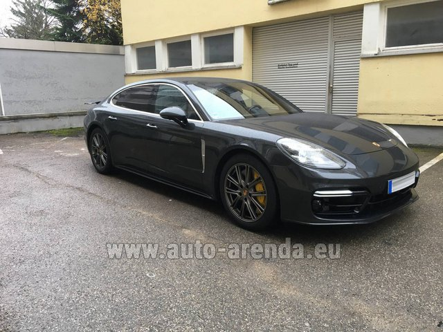 Rental Porsche Panamera Turbo Executive in Karlsruhe