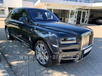 Rental in Frankfurt the car Rolls-Royce Cullinan Black