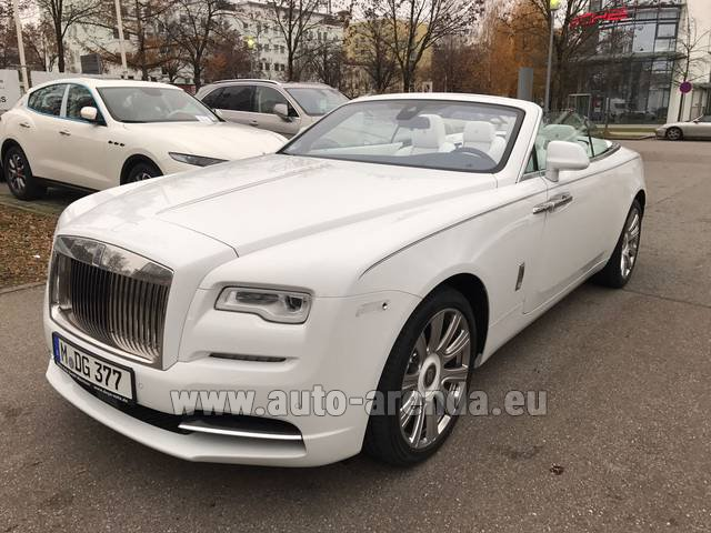 Rental Rolls-Royce Dawn in Dortmund