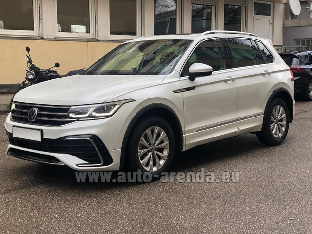 Rental Volkswagen Tiguan R Line 2.0 TSI 333 hp in Germany