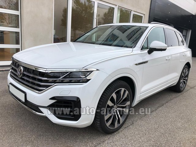 Rental Volkswagen Touareg 3.0 TDI R-Line in Germany