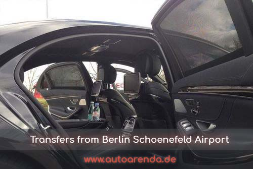 Taxi transfers from Berlin Schoenefeld Airport in Germany