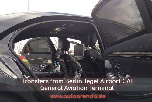 Transfers to Berlin Tegel Airport General Aviation Terminal GAT to Germany