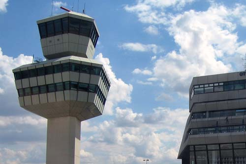 Transfers at Berlin Tegel Airport in Germany