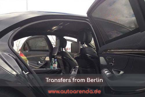 Transfers in the city of Berlin in Germany