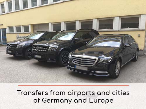 Transfers from airports and cities in Germany and Europe | Car rental with driver