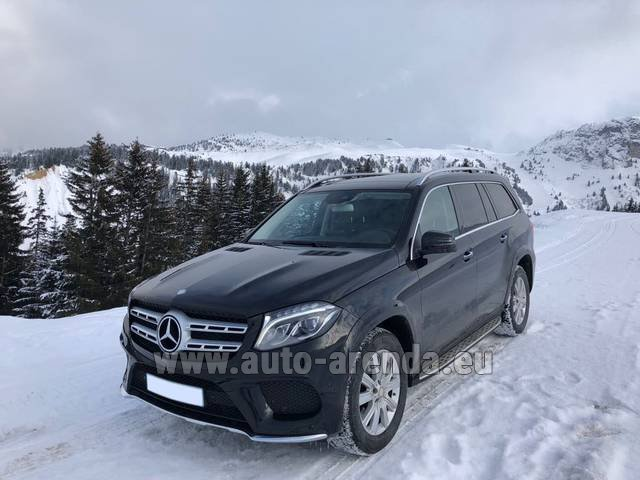 Transfer from Munich Airport General Aviation Terminal GAT to Brno by Mercedes-Benz GLS BlueTEC 4MATIC AMG equipment (1+6 pax) car